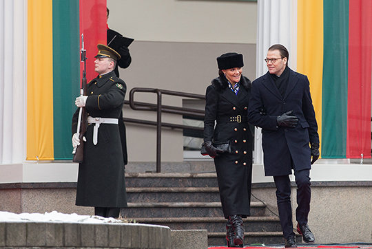 Sweden s Crown Princess Victoria and Prince Daniel