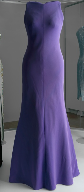 Purple Versace gown (c) Royal Collection Trust All Rights Reserved